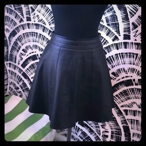 3/$30!!  Leather skirt